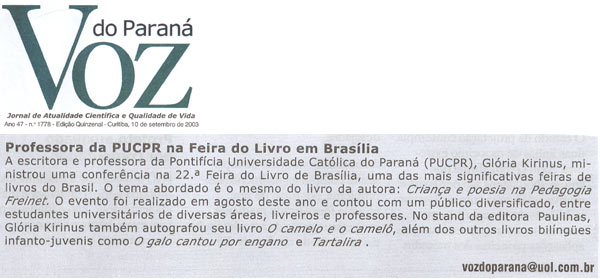 Voz do Paraná